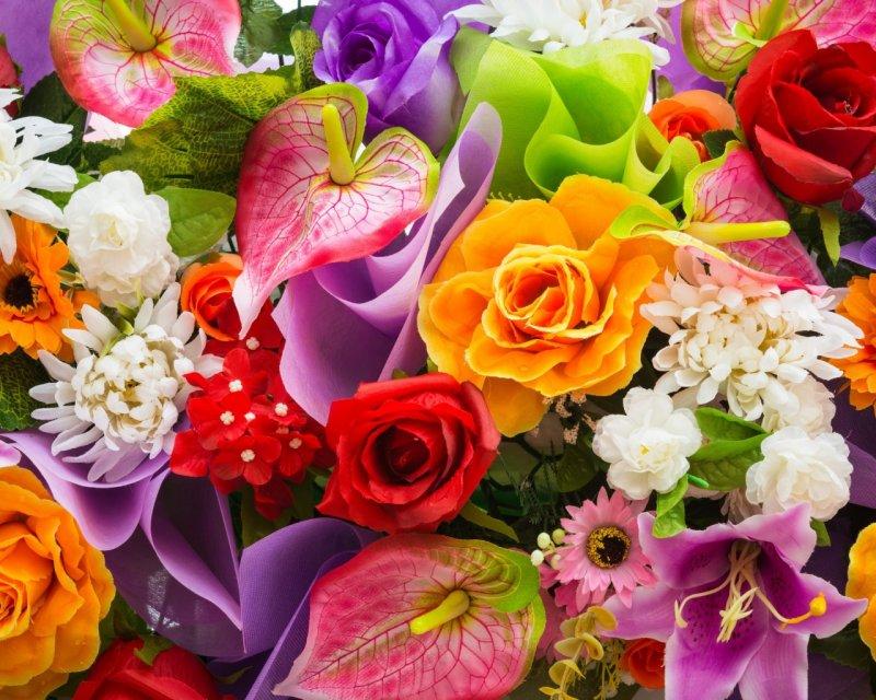 О цветах в религиях мира