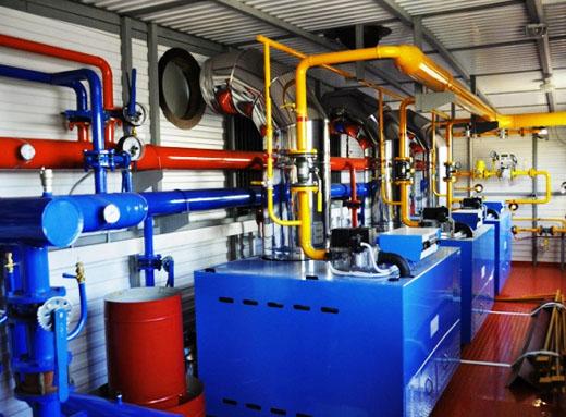 Достоинства газовых котельных
