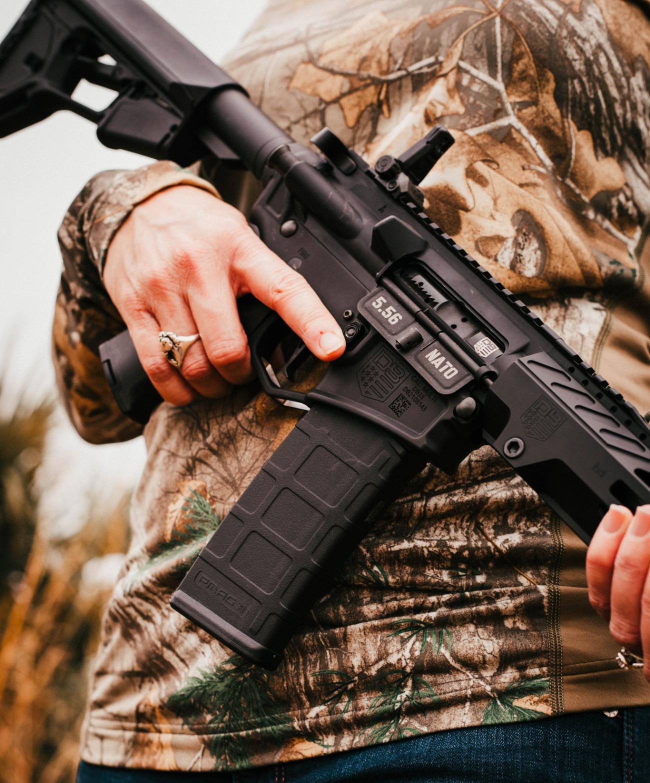 Прапорщик предлагает большой выбор оружия на любой вкус