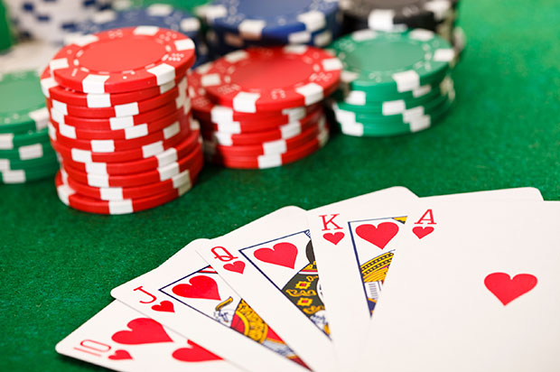 Poker game features